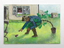Oil on canvas 110x70 cm