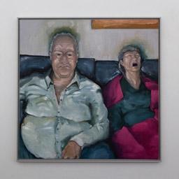 Oil on canvas, 100 x 100 cm